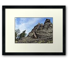 Rocky Town 2 - Nature Photography Framed Print
