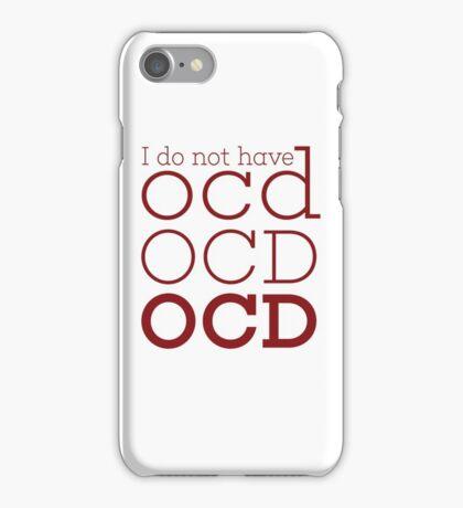 OCD  iPhone Case/Skin