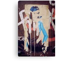 Barbie Graffiti  Canvas Print