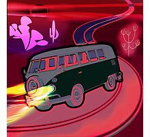 Magical Mystery Ride Photographic Print