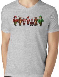 Merry Xmas from MINE Mens V-Neck T-Shirt