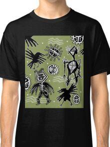 crazy crow dance Classic T-Shirt