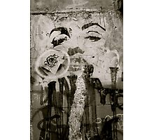 Marylin Monroe Graffiti Photographic Print