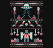 Paranormal Sweater Party Kids Tee