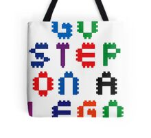 Go Step On A Lego Tote Bag