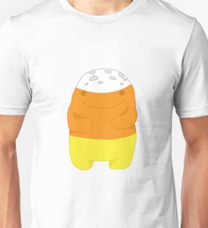 Halloween Quaggan Candy Corn Unisex T-Shirt