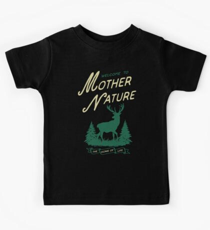 Mother Nature - The Home of Life Kids Tee