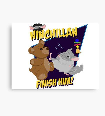 NinChillan - Finish Him! Canvas Print