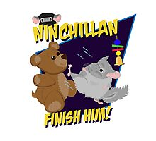 NinChillan - Finish Him! Photographic Print