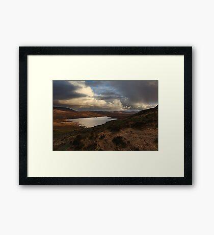 Lough Barra From Crockfadda Framed Print