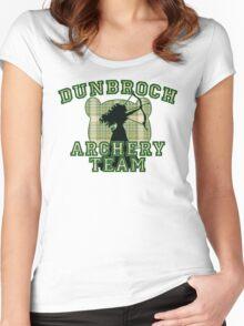 DunBroch Archery Team Women's Fitted Scoop T-Shirt