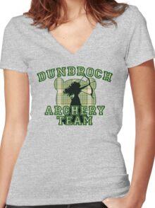 DunBroch Archery Team Women's Fitted V-Neck T-Shirt