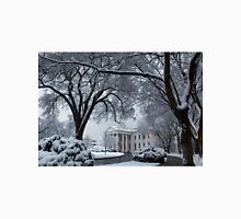 Winter Wonderland White House Unisex T-Shirt