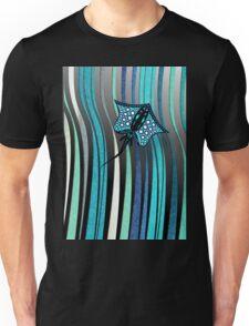 TURQUOISE STINGRAY 105 DARK OCEAN. Unisex T-Shirt