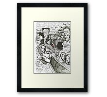 this one's for you, miss W! Framed Print