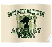 DunBroch Archery Team Poster
