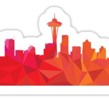 Seattle skyline  Sticker