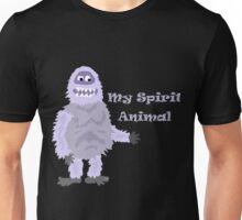 My Spirit Animal is the Abominable Snowman Cartoon Unisex T-Shirt