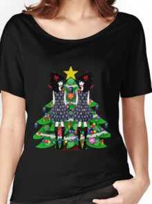 Merry Christmas Lolita Whovians Women's Relaxed Fit T-Shirt