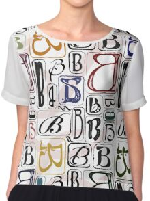 B Is For ..... Chiffon Top