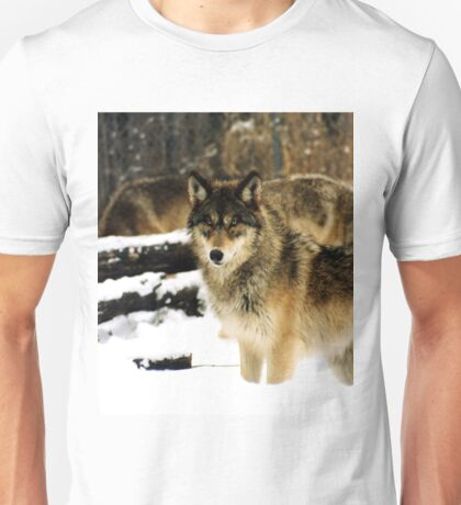 Wolves in The Snow Unisex T-Shirt