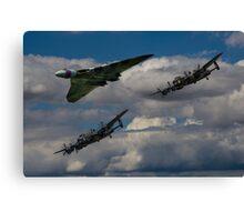 Avro 3Sisters Canvas Print