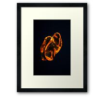 As Twins Framed Print
