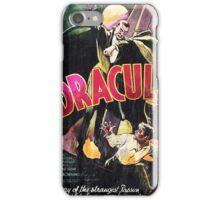 Vampire Poster iPhone Case/Skin