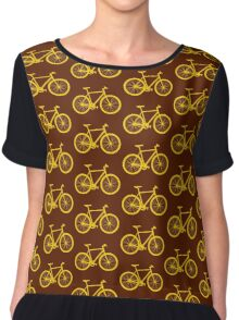 Fixie Bike Chiffon Top