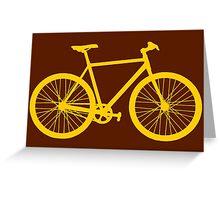 Fixie Bike Greeting Card