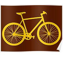 Fixie Bike Poster