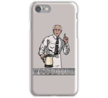 Woodhouse Holding Kettle iPhone Case/Skin