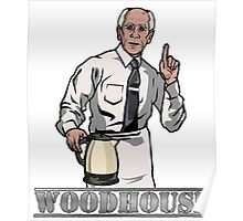 Woodhouse Holding Kettle Poster