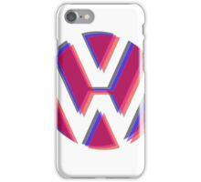 VW Tri Logo iPhone Case/Skin