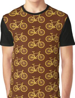 Fixie Bike Bling Graphic T-Shirt