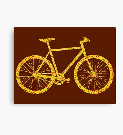 Fixie Bike Bling Canvas Print