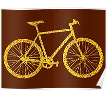 Fixie Bike Bling Poster