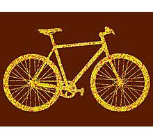 Fixie Bike Bling Photographic Print