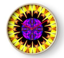 **Power Flower** Clock
