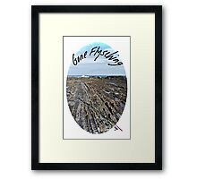 Gone Flysching Framed Print