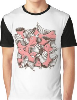RED BIRDS Graphic T-Shirt