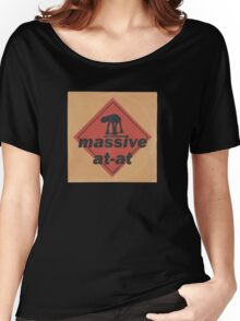 Massive (vinyl square version) Women's Relaxed Fit T-Shirt