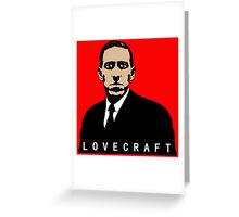 LOVECRAFT BODY Greeting Card