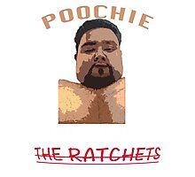 Poochie Cartoon Photographic Print