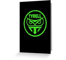 Tyrell Corporation Logo - Blade Runner Greeting Card