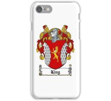 King (Dublin - 1606) iPhone Case/Skin