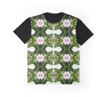 Spring Garden Abstract Graphic T-Shirt