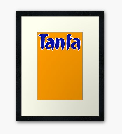 tanfa meme Framed Print