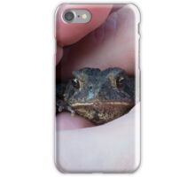 Toad In Hand iPhone Case/Skin