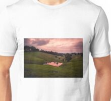 Sunsets in the water Unisex T-Shirt
